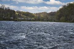 Parc d'état de bancs de sycomore, Elizabethton, TN Images stock