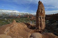 Parc d'état de bassin de Kodachrome, Utah, Etats-Unis Photo libre de droits