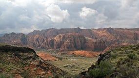 Parc d'état de canyon de neige photo libre de droits