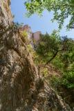 Parc d'état de canyon de Providence la Géorgie Image libre de droits