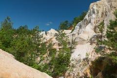 Parc d'état de canyon de Providence la Géorgie Photographie stock libre de droits