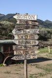 Parc d'état de crique de Malibu Image libre de droits