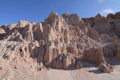 Parc d'état de gorge de cathédrale, Nevada Photos stock