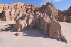 Parc d'état de gorge de cathédrale, Nevada Photo libre de droits