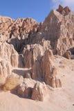 Parc d'état de gorge de cathédrale, Nevada Photographie stock