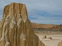 Parc d'état de gorge de cathédrale, Nevada image stock