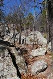 Parc d'état de la caverne du voleur Photo stock