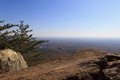 Parc d'état de montagne de Crowders Photos stock