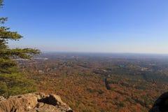 Parc d'état de montagne de Crowders Images libres de droits
