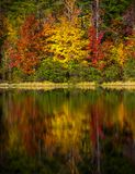Parc d'état de montagne de Crowders - la Caroline du Nord Images libres de droits