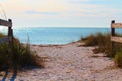 Parc d'état de plage de lune de miel, waterview Photos stock