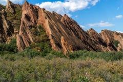 Parc d'état de Roxborough Denver Colorado photographie stock