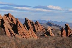 Parc d'état de Roxborough, le Colorado photo libre de droits