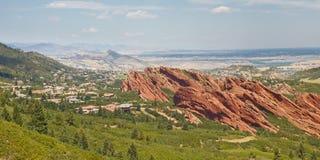 Parc d'état de Roxborough près de Denver Photographie stock libre de droits