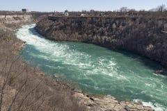 Parc d'état de tourbillon sur la rivière Niagara Photographie stock libre de droits