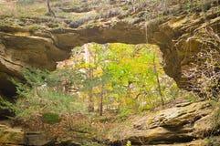 Parc d'état naturel de pont - liberté du nord, WI photographie stock