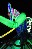 Parc d'événement de Mardi Gras Arts en Hong Kong Images stock