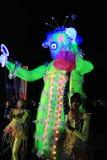 Parc d'événement de Mardi Gras Arts en Hong Kong Photographie stock libre de droits