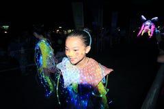 Parc d'événement de Mardi Gras Arts en Hong Kong Photographie stock