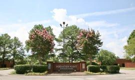 Parc d'affaires de point de périmètre, Memphis TN images libres de droits