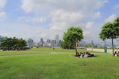 Parc d'Amirauté, Hong Kong Photographie stock