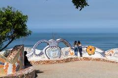 Parc d'amour dans Miraflores Lima Photos libres de droits