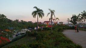 Parc d'anouvong de Chao Photos stock
