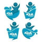 Parc d'Aqua illustration libre de droits