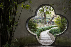 Parc d'aquarelle de la Chine Rugao Photos libres de droits