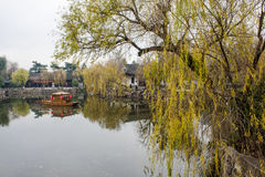 Parc d'aquarelle de la Chine Rugao Photo libre de droits