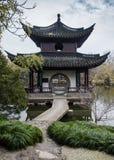 Parc d'aquarelle de la Chine Rugao Photographie stock