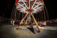Parc d'attractions à Belgrade Photos stock