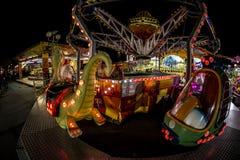 Parc d'attractions à Belgrade Image libre de droits