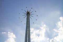 Parc d'attractions à Vienne photo libre de droits