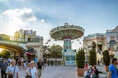 Parc d'attractions à Vienne photos libres de droits