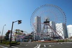 Parc d'attractions à Yokohama Photos stock