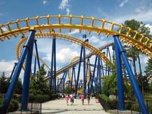 Parc d'attractions Photo libre de droits