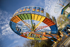 Parc d'attractions Photos stock