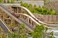Parc d'attractions Images stock