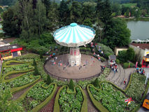 Parc d'attractions Photos libres de droits