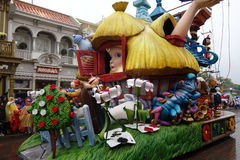 Parc d'attractions de Disneyland pour des enfants Paris, France photos stock