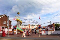 Parc d'attractions de Dymchurch Kent R-U Images stock