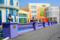 Parc d'attractions de film de Tchang-tchoun Photographie stock libre de droits