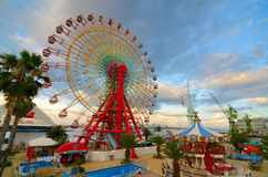 Parc d'attractions de mosaïque de Kobe Image libre de droits