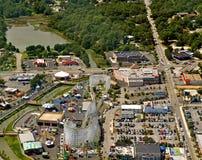 Parc d'attractions de royaume de famille Photo stock