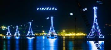 Parc d'attractions de Vinpearl, Nha Trang, Vietnam Images libres de droits