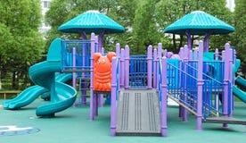Parc d'attractions des enfants Images stock