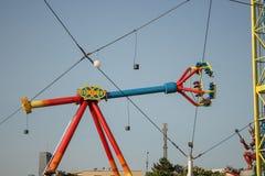 Parc d'attractions, oscillation photo libre de droits