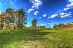 Parc d'automne Image libre de droits