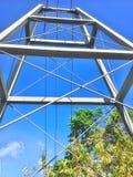Parc d'aventure de Toro Verde Photo stock